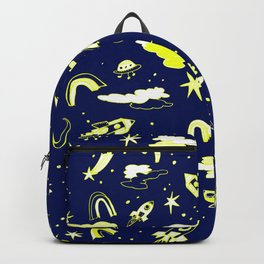 Rockets and rainbows Backpack