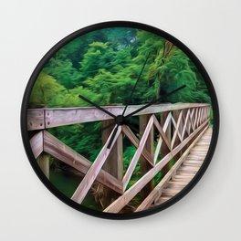 Bucket Explorer on the Bridge Wall Clock