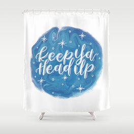 Head Up Shower Curtain