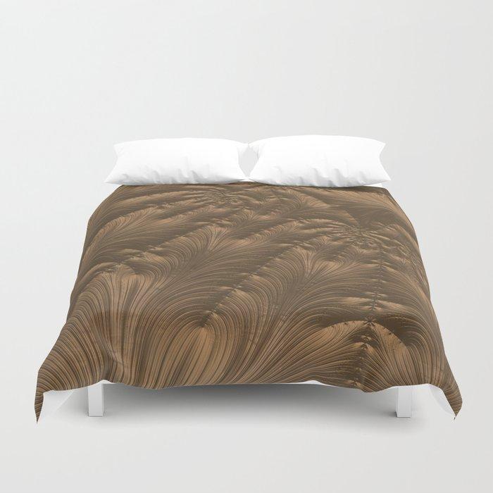Renaissance Brown Duvet Cover