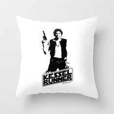 Han Solo-Kessel Runner Throw Pillow