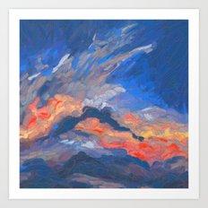 Cloudscape 2 Art Print