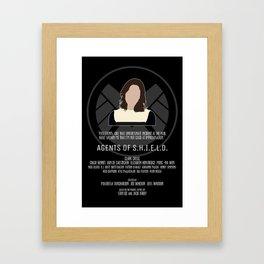 Agents of S.H.I.E.L.D. - Simmons Framed Art Print