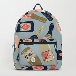 French Champagne Collection – Navy & Coral Backpack