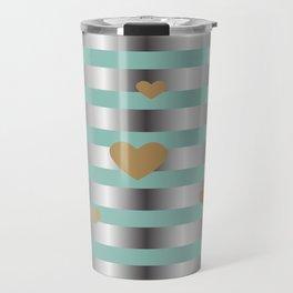 Metal Pattern Travel Mug