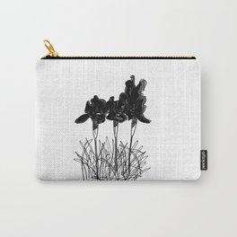 Dark Iris Carry-All Pouch