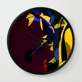 Missed Guided Illusions Wall Clock