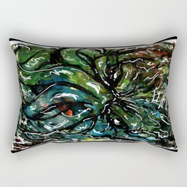 Johnny Cthulhu Rectangular Pillow