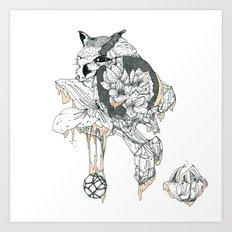 O . M Art Print