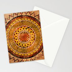 Four Dragons Mandala Stationery Cards