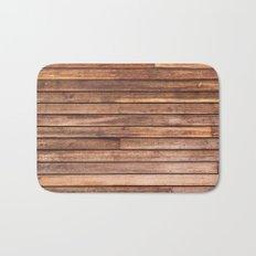 Wood Plank Bath Mat