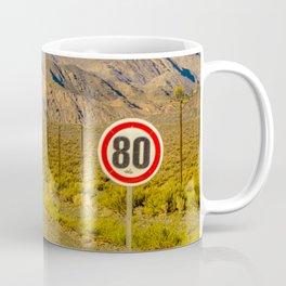Deserted Landscape Highway, San Juan Province, Argentina Coffee Mug
