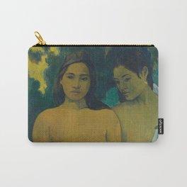 Paul Gauguin - Two Tahitian Women (1899) Carry-All Pouch