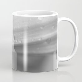 Colourful detail on black and white lily Coffee Mug