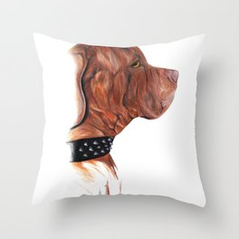 Atilla - Bandog Throw Pillow