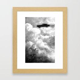 Riding the Bullet Framed Art Print