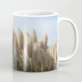 Bushes with sky on background Coffee Mug