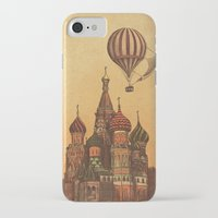 moscow iPhone & iPod Cases featuring Moving to Moscow by Terry Fan