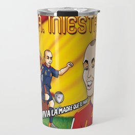 Andres Iniesta 2010 Travel Mug