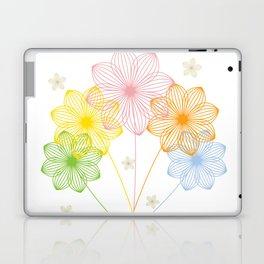 Blooming Flowers Laptop & iPad Skin