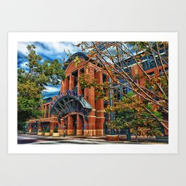 Home of the Rockies Art Print