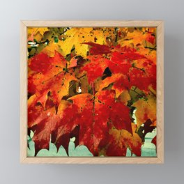 Autumn Leaves 3 Framed Mini Art Print