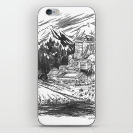 River Copper Mine iPhone Skin