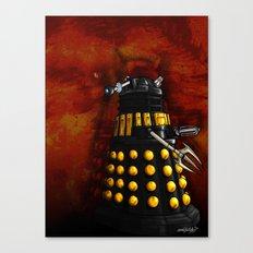 The Dalek Inquisitor General Canvas Print