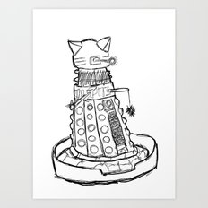 Dalekitty Art Print