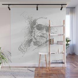 Bukowski - Pencil Scribble Wall Mural