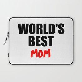 worlds best mom gift Laptop Sleeve