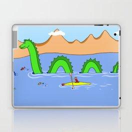 Captain Kayak and Loch Ness Monster Laptop & iPad Skin