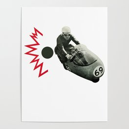 Motorcycle Madness Poster