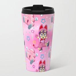 Arale Cat's pattern Travel Mug