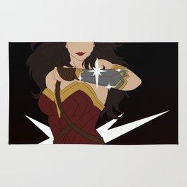 Woman of Wonder Minimalist Rug