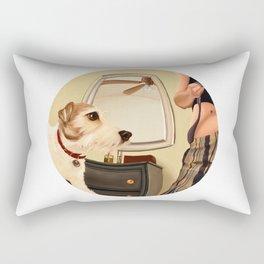 9:40 AM Rectangular Pillow
