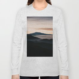CLOUDY MOUNTAINS Long Sleeve T-shirt