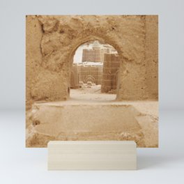 Sand Castle Inside Mini Art Print