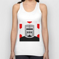 knight Tank Tops featuring Knight by Vipes