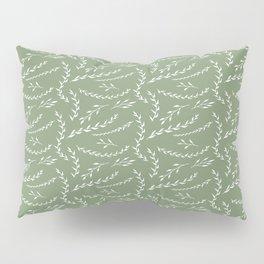 Vines on Green Pillow Sham