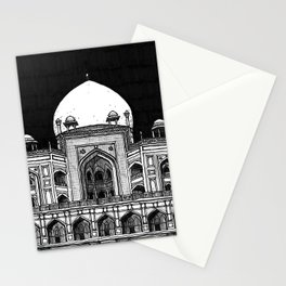 Humayun's Tomb (Charcoal) Stationery Cards