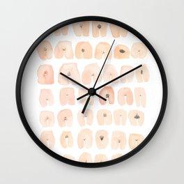 42 VAGINAS Wall Clock