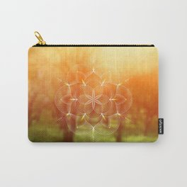 Valinor (Undying Lands)   Sacred geometry art Carry-All Pouch