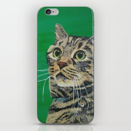Cat that longs to be a Tiger! iPhone Skin