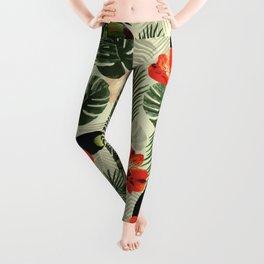 Tropic pattern 002 Leggings