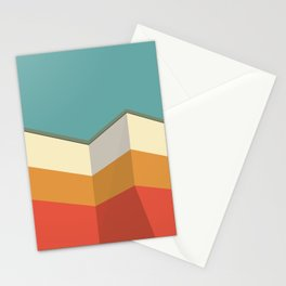 Modernist Angles Stationery Cards