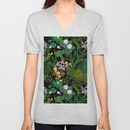 Botanical Bog Unisex V-Neck