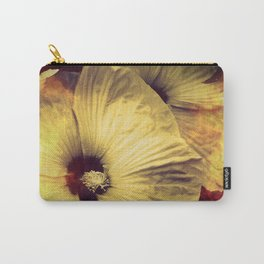 Yellow Flower in Smoke and Flames Carry-All Pouch