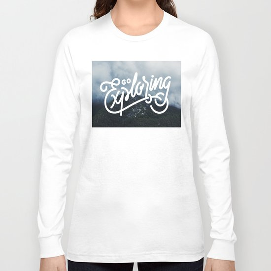 Go Exploring Long Sleeve T-shirt