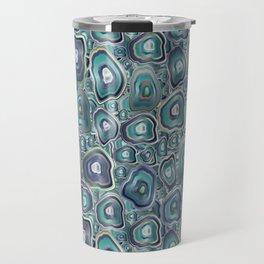 agate mosaic Travel Mug